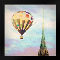 Chrysler Balloon: Framed Art Print by Davis, Ashley