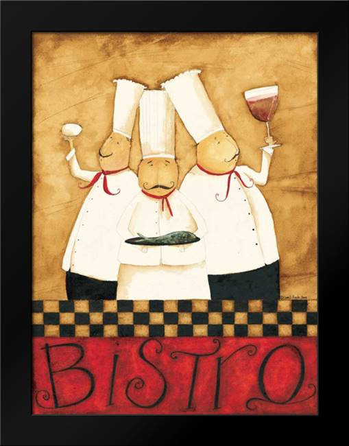 Happy Chefs: Framed Art Print by DiPaolo, Dan