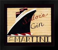 Gin: Framed Art Print by DiPaolo, Dan