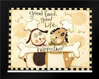 Happy Dogs: Framed Art Print by DiPaolo, Dan