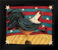 American Rooster: Framed Art Print by DiPaolo, Dan