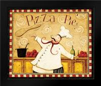 Pizza Pie: Framed Art Print by DiPaolo, Dan