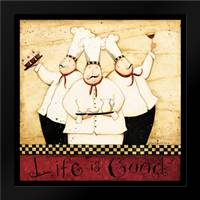 Life Of A Chef: Framed Art Print by DiPaolo, Dan