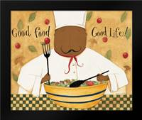 Good Food: Framed Art Print by DiPaolo, Dan
