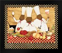 Loves To Cook: Framed Art Print by DiPaolo, Dan