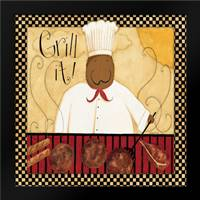 Grill It: Framed Art Print by DiPaolo, Dan