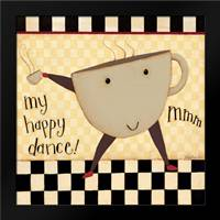 Coffee Dance: Framed Art Print by DiPaolo, Dan