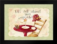 All About You Cupcake: Framed Art Print by DiPaolo, Dan