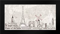 Paris Skyline Warm: Framed Art Print by Stimson, Diane