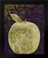 Apple Damask Center: Framed Art Print by Stimson, Diane