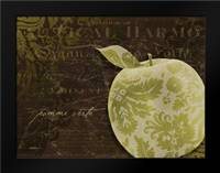 Apple Damask Horizontal: Framed Art Print by Stimson, Diane