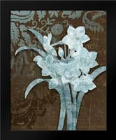 Daffodil Damask: Framed Art Print by Stimson, Diane