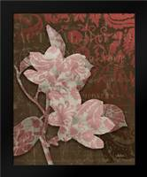 Magnolia Damask: Framed Art Print by Stimson, Diane