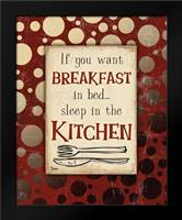 Breakfast Kitchen: Framed Art Print by Stimson, Diane
