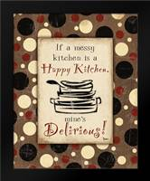 Kitchen Delirious: Framed Art Print by Stimson, Diane