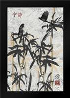 Bamboo Jungle B: Framed Art Print by Stimson, Diane