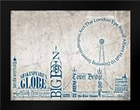 London Skyline: Framed Art Print by Stimson, Diane