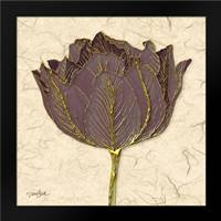 Purple Tulip: Framed Art Print by Stimson, Diane