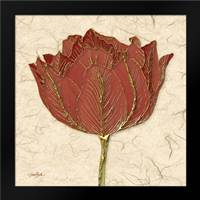 Red Tulip: Framed Art Print by Stimson, Diane