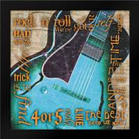 Rock Roth Blue: Framed Art Print by Stimson, Diane