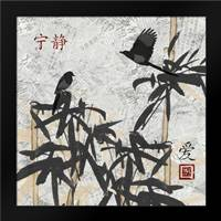 Bamboo Jungle 2: Framed Art Print by Stimson, Diane
