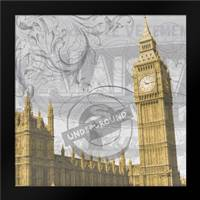 Big Ben: Framed Art Print by Stimson, Diane