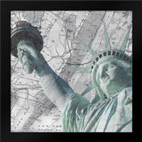 Statue NYC: Framed Art Print by Stimson, Diane