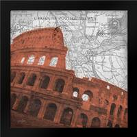 Colosseum Rome: Framed Art Print by Stimson, Diane