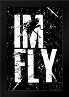 IM FLY 1: Framed Art Print by Rodriquez Jr, Enrique