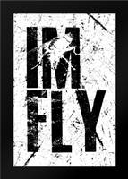IM FLY 2: Framed Art Print by Rodriquez Jr, Enrique