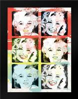 Monroe Painted D: Framed Art Print by Rodriquez Jr, Enrique