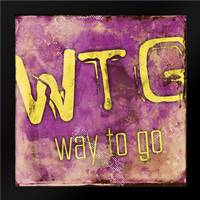 WTG: Framed Art Print by Rodriquez Jr, Enrique