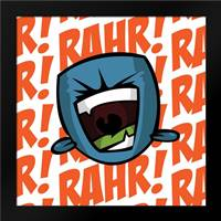 Rahr: Framed Art Print by Rodriquez Jr, Enrique