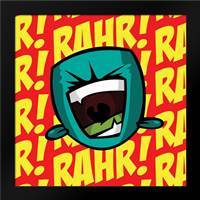 Rahr B2: Framed Art Print by Rodriquez Jr, Enrique