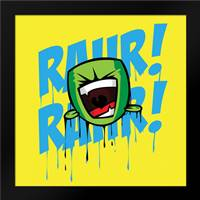 Rahr C: Framed Art Print by Rodriquez Jr, Enrique