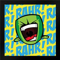 Rahr C2: Framed Art Print by Rodriquez Jr, Enrique