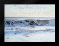 Cape Feelings 1: Framed Art Print by Urquhart, Elizabeth