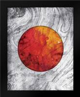 Marble Mars: Framed Art Print by Grey, Jace