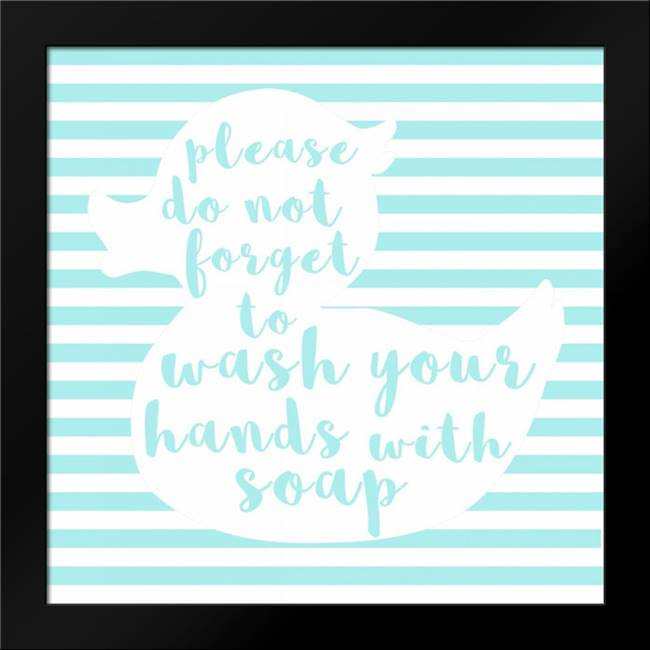 Hand Washing: Framed Art Print by Matic, Jelena