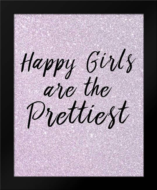 Happy Girls: Framed Art Print by Allen, Kimberly