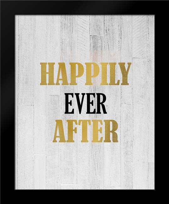 Happily Ever After: Framed Art Print by Kimberly, Allen