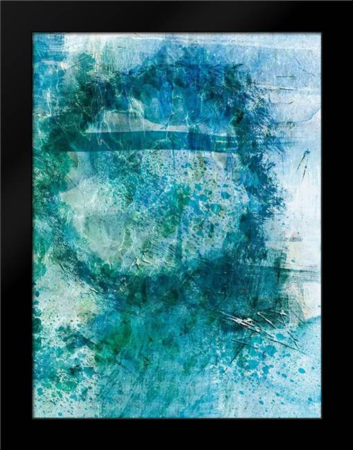 Distressed Ocean 2: Framed Art Print by Prime, Marcus