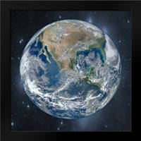 Earth Of Wonder 2: Framed Art Print by Prime, Marcus