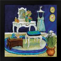 Blue Boudoir I: Framed Art Print by Olson, Charlene
