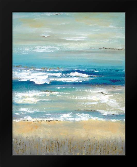 Distant Horizon: Framed Art Print by Tava studios
