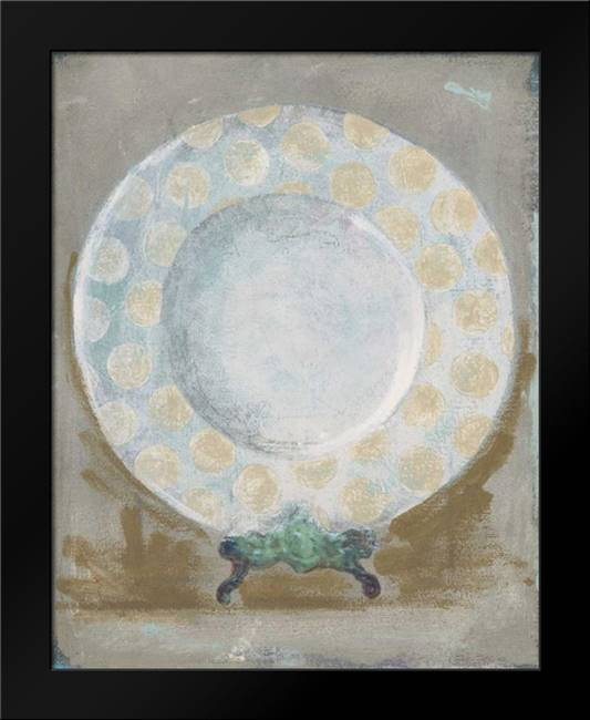 Dinner Plate III: Framed Art Print by Stajan-Ferkul, Andrea