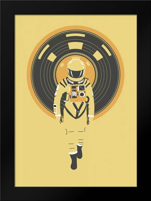 DJ Hal: Framed Art Print by Farkas, Robert