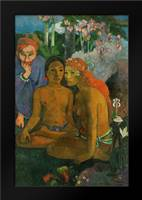Contes barbares: Framed Art Print by Gauguin, Paul