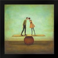 Finding Equilibrium: Framed Art Print by Huynh, Duy