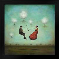 Gravitea For Two: Framed Art Print by Huynh, Duy